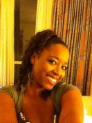 Michelle - Afrikansk jente som går vilt