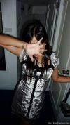 Filipino girl going wild!
